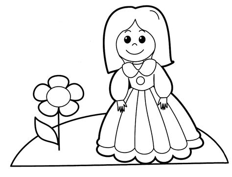 coloring page of doll free printable baby doll coloring pages coloring home