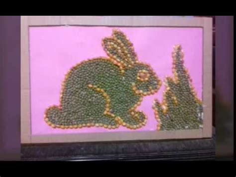 membuat kolase binatang cara membuat mozaik kolase dari bahan alami youtube