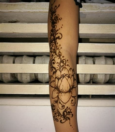 henna lotus tattoo lotus meaning