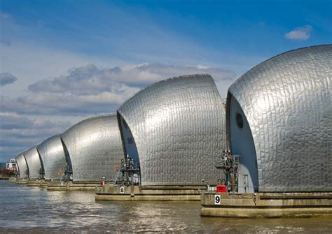 thames barrier issues civil engineering challenges due to climate change