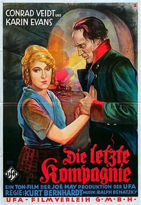 ferdinand filmaffinity die letzte kompagnie 1930 movie