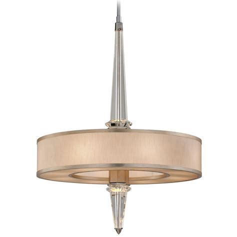 Drum Pendant Lighting Modern Drum Pendant Light With White Shade In Tranquility Silver 166 48 Destination Lighting