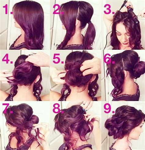 hairstyles for curly medium hair step by step step by step latest hairstyles nationtrendz com