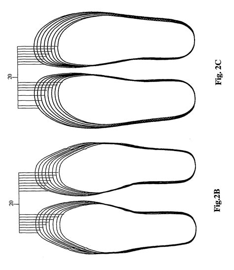 insole template patent us8406454 method and system for customized shoe