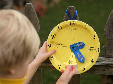 clock craft for paper plate clock craft 183 kix cereal