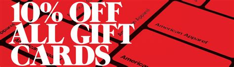 american apparel canada coupons codes 10 off all gift cards canadian freebies - American Apparel Gift Card Code