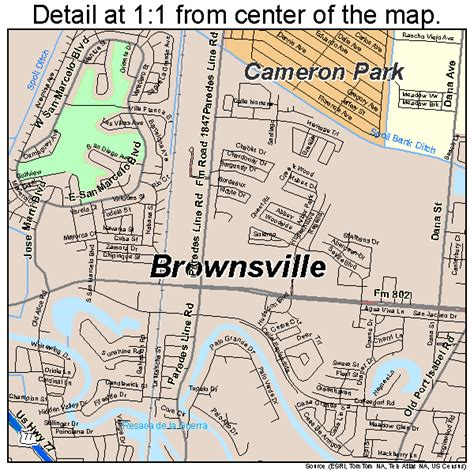 map of brownsville texas brownsville texas map 4810768