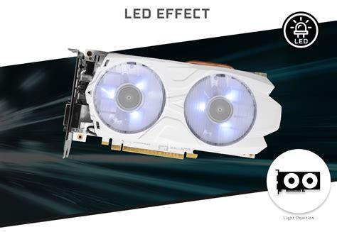 Galax Geforce Gtx 1050 Ti Exoc White Edition 4gb Ddr5 Limitededition galax geforce 174 gtx 1050 ti exoc white exoc white series graphics card