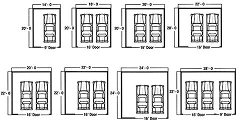 garage sizes standard standard garage dimensions google search art