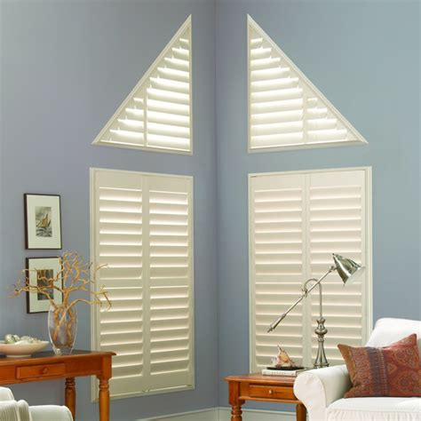 shaped window coverings angled arched window coverings glendale az
