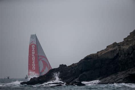 volvo ocean race  battle  top dog status sailing magazine