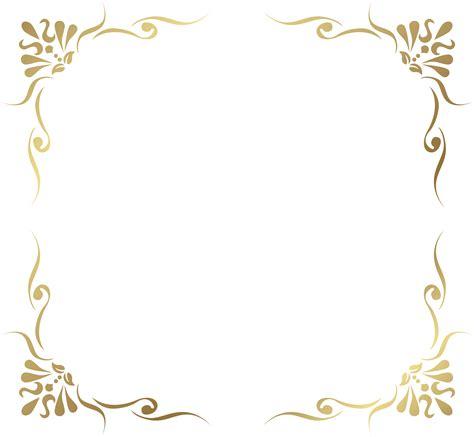 decorative pattern png transparent decorative frame border png picture a