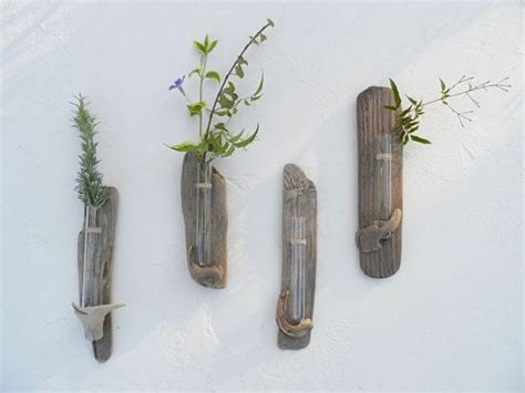 no 10 vase driftwood decor wall flower hanging bud