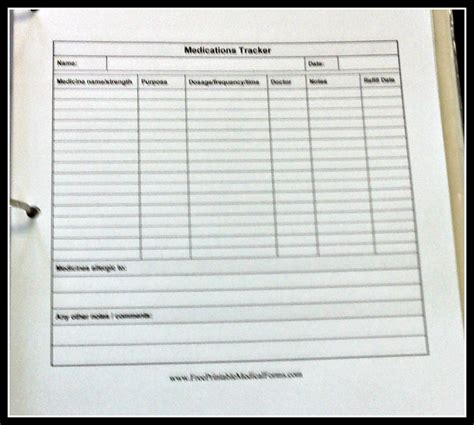 blank medication list templates medication administration record template excel search