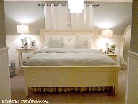 a picture of a bedroom remodelaholic pottery barn inspired master bedroom makeover
