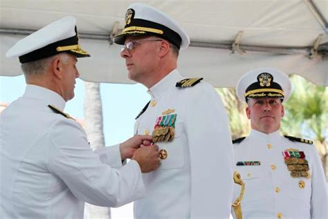rear admiral larry chambers usn american to command an aircraft carrier books norco change of command at naval warfare center press