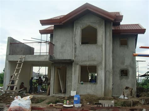 simple house design in philippines monte rosa subdivision house construction project in hibao an mandurriao iloilo