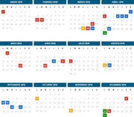 Calendario 2018 Con Feriados Argentina Feriados Nacionales 2018 Econoblog
