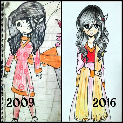 anime about artist my drawing now and then 5 anime artist aurpita by