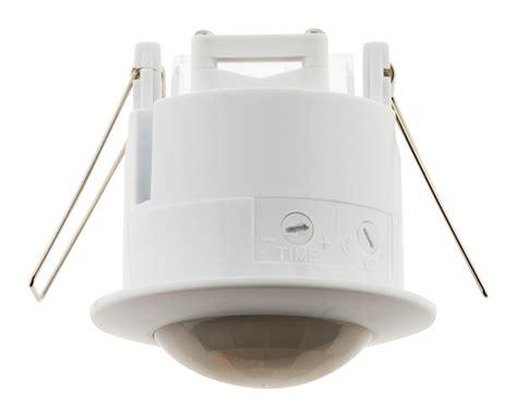 Bricolage Luminaire Plafond by D 233 Tecteur De Mouvement Plafond Encastrable Blanc