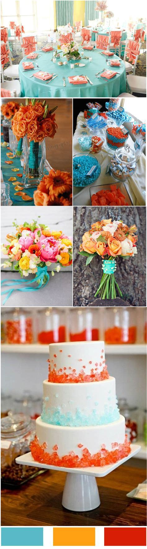 Tiffany Blue inspired Wedding Color Ideas