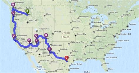 map from texas to california the ultimate friendly american road trip take paws the official pet travel of