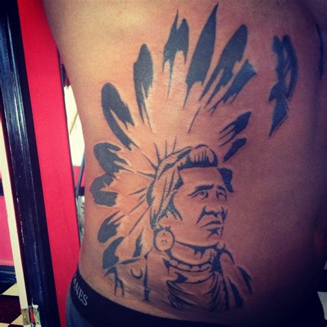 show me tattoos indian chief show me a with a and i ll show
