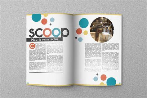 5 creative magazine layouts magazine layouts carbon circle magazine template on behance