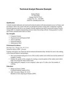 Html Resume Exle by Sle Resume Technical Trainer Exle Sle Resume Technical Trainer Exle Professional
