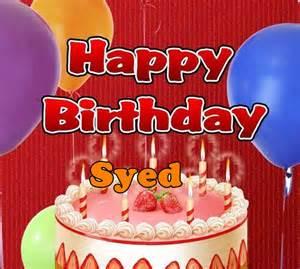 happy birthday syed happy birthday