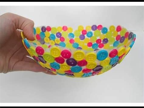 Handmade Handicrafts From Waste Materials - adorable diy bowls for home decor