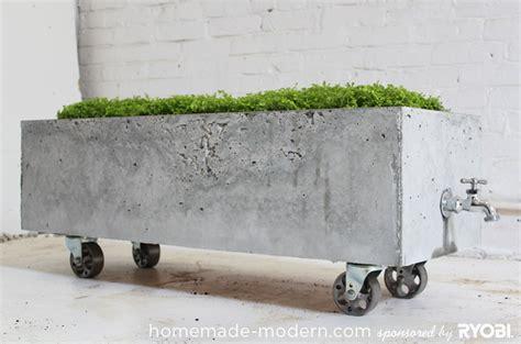 modern ep16 concrete planter