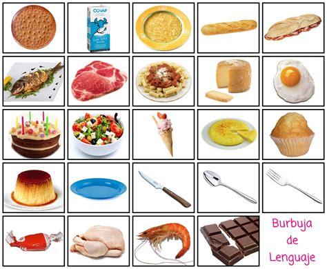 pictogramas alimentos alimentos el rinc 243 n de aprender
