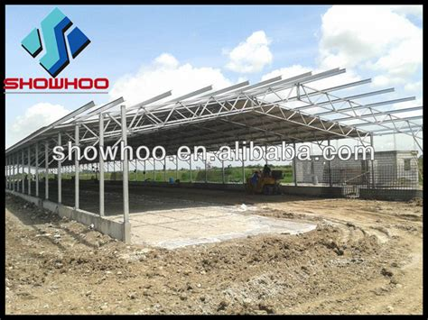 Poultry Shed Construction by China Poultry Farming House Design Building Chicken Shed