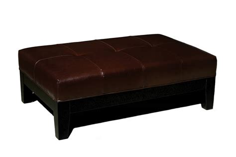 leather storage bench ottoman wholesale interiors omy 192 full leather storage ottoman