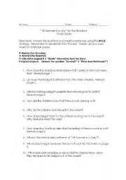 All Summer In A Day Essay by Pride And Prejudice Essay Questions And Answers