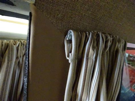 one sided curtain rod retrofit curtain rods bay and vanagon sewfine