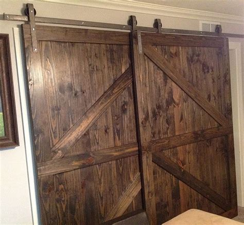 barn closet doors 1000 ideas about bypass barn door hardware on