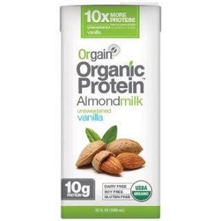 protein nut milk amish healthy foods