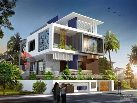 ultra modern house plans front exterior design of indian bungalow