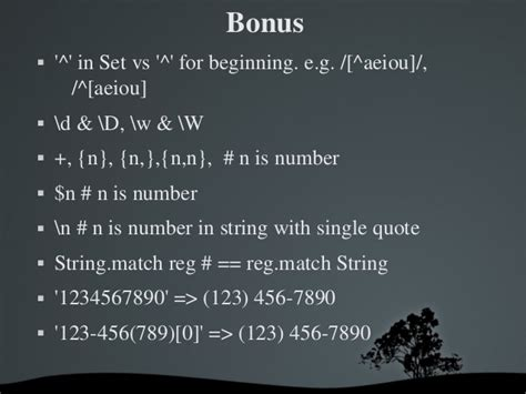 tutorialspoint regular expression eloquent ruby chapter 4 find the right string with
