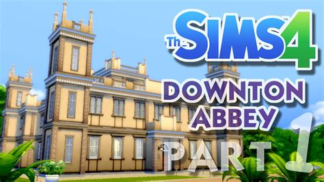 The Sims 4 House Building: Downton Abbey / Highclere
