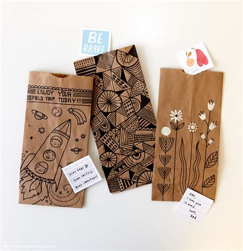 Paper Lunch Bag Crafts - brown paper bag crafts you to make the cottage market