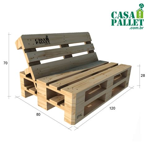 sofas de sof 225 de pallet reclinado casa pallet