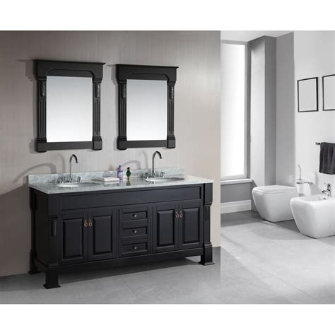Design Element Bathroom Vanities by Design Element Marcos 72 Quot Sink Vanity Set With