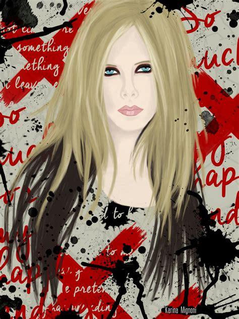 Kaset Pita Avril Lavigne My Skin 1 avril lavigne 1 my skin by karinamignoni on deviantart