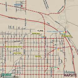 arizona city limits map map yuma arizona surrounding area