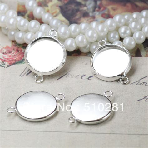 bezels for jewelry on sale 10mm blank bezel cup silver tone