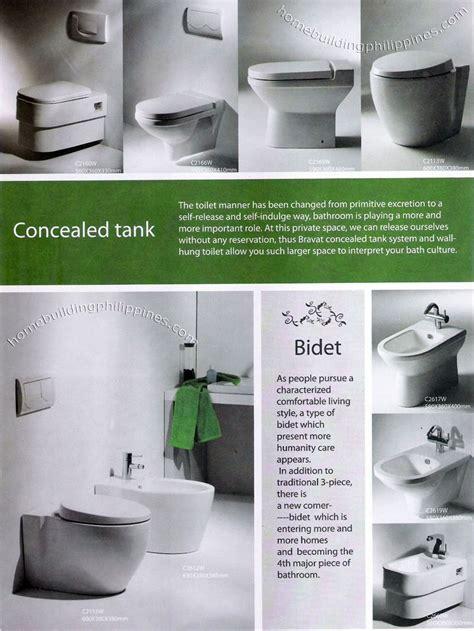 Bidet Philippines by Bathroom Concealed Tank Toilet Bidet Designs Philippines