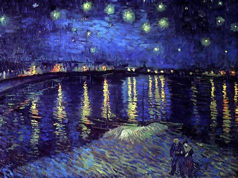 starry night wallpapers van goghs starry night